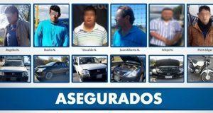 Detienen a seis por tener automóviles robados en municipios poblanos