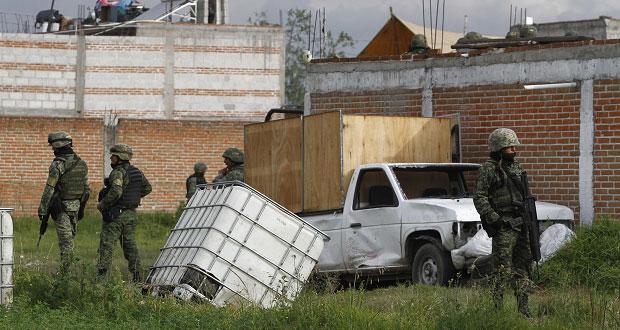 Puebla, entre 12 estados con mayoría de tomas clandestinas: Sedena