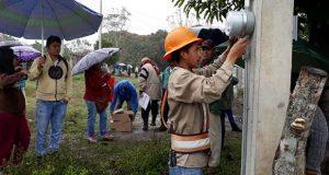 En Venustiano Carranza, acuerdan con CFE instalación de electricidad