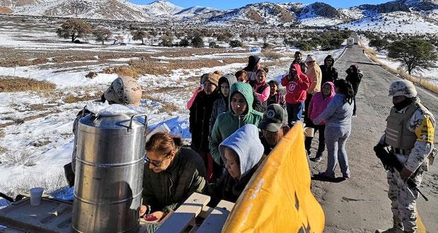 Declaran emergencia en 38 municipios de Sonora por heladas y nevada