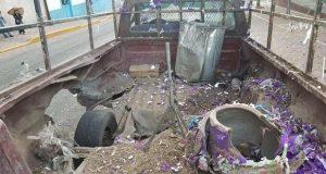 Explosión por pirotecnia en feria de Chinantla deja saldo de seis heridos