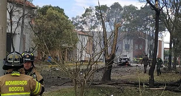 Suman 9 muertos por ataque con coche bomba a Policía de Colombia