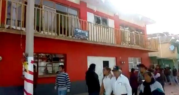 Explosión de pirotecnia en procesión de Ciudad Serdán deja 5 heridos