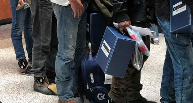 Hasta noviembre, deportaciones de poblanos en Estados Unidos crecen 40.2%