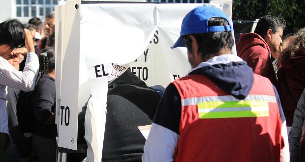 Reportan larga espera y listas nominales incompletas en Momoxpan