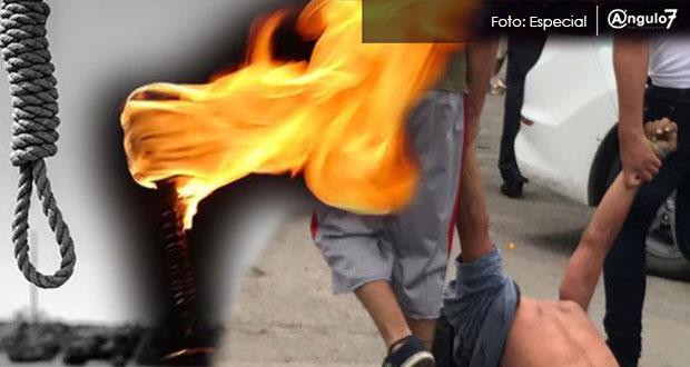 Ejército rescata a hombre de ser linchado en Tlahuapan