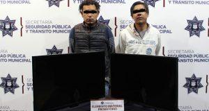 Detienen a dos por robo a casa habitación en Minerales de Guadalupe