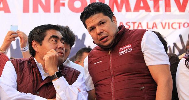 Biestro respalda a Barbosa como candidato ante campaña de Armenta