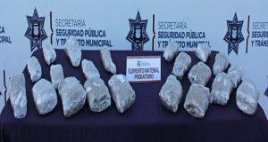 Ssptm asegura cuatro kilos de posible marihuana dentro de CAPU