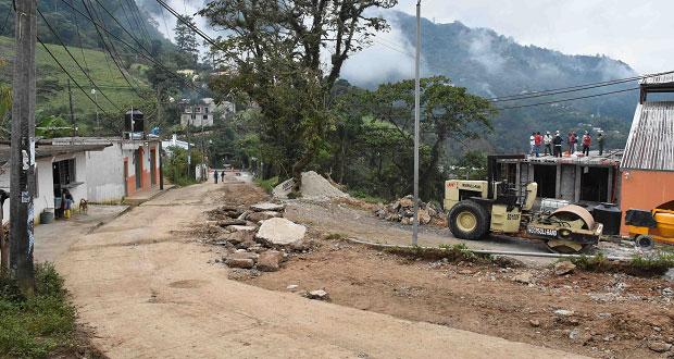 Reconocen obras realizadas por ayuntamiento de Huitzilan de Serdán