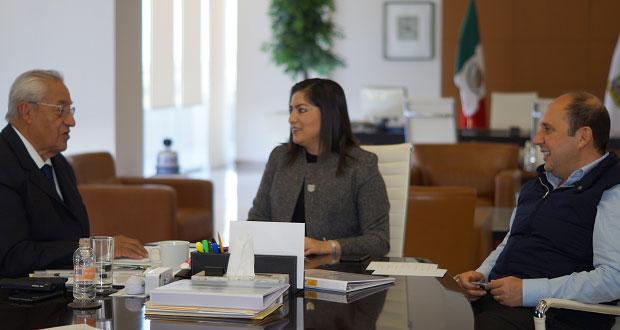 Rivera acuerda con Pacheco que Comuna estará al margen de elección