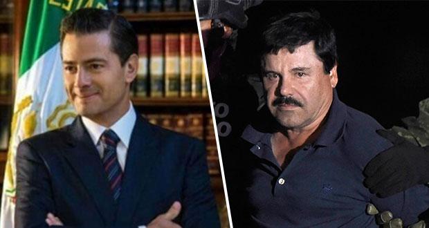 Testigo asegura que El Chapo sobornó con 100 mdd a Peña Nieto