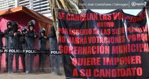 Por inconformidad de 7 de 8 candidatos, suspenden votación en Xochimehuacán