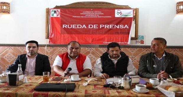 "Corriente ""crítica"" del PRI quiere a Doger de candidato a gobernador"