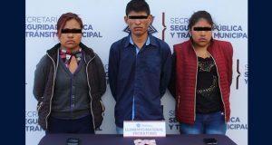 Detienen a tres probables homicidas de joven en La Resurrección
