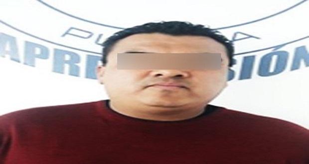 En Puebla, detienen a hombre señalado de robo en Nuevo León