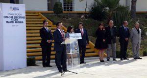 SEP entrega rehabilitación de Cecyte plantel Cholula tras sismo
