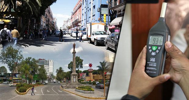 CH, Anzures y avenida Juárez zonas más ruidosas