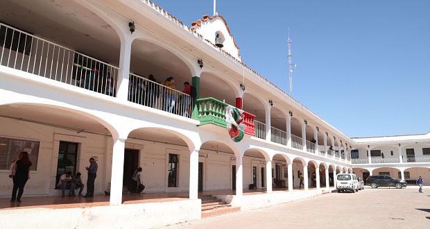 Edil antorchista de Ocoyucan inaugura obra en Chalchihuapan