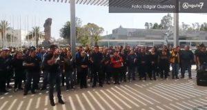 "En ""asamblea"", destituyen a Juárez de dirigencia sindical"