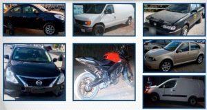 SSP recupera siete vehículos con reporte de robo en Puebla