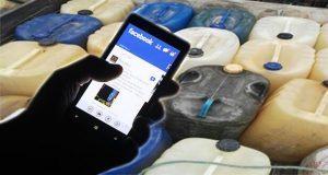 Por lo menos en seis estados venden gasolina a través de Facebook. Foto: Especial