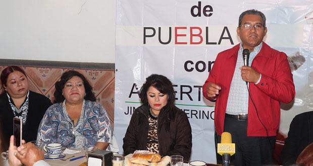 Confirma Jiménez que quiere candidatura del PRI y pide unidad