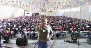 Antorchistas realizarán mítin frente al palacio de Huauchinango