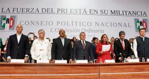 Aprueban elección abierta y directa para dirigencia nacional del PRI