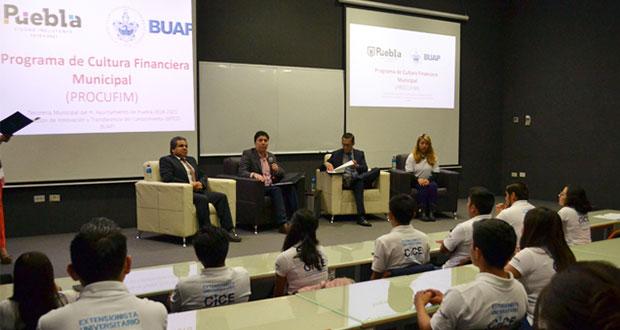 BUAP dará capacitación financiera en juntas auxiliares de capital