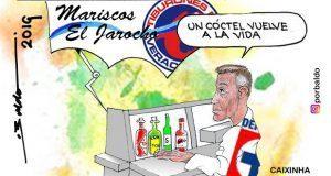 "Caricatura: Caixinha busca un ""vuelve a la vida"" en Veracruz"