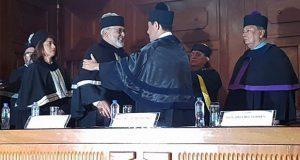 Carlos Figueroa, investigador de BUAP, recibe honoris causa