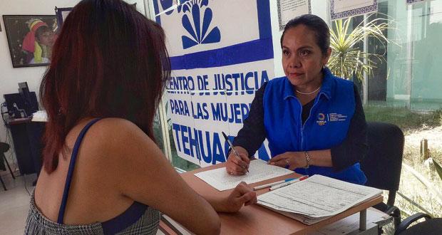 En dos años, CJM de Tehuacán brinda 10 mil 416 servicios a mujeres