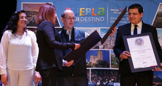 Certifican a 55 prestadores de servicios turísticos en Puebla