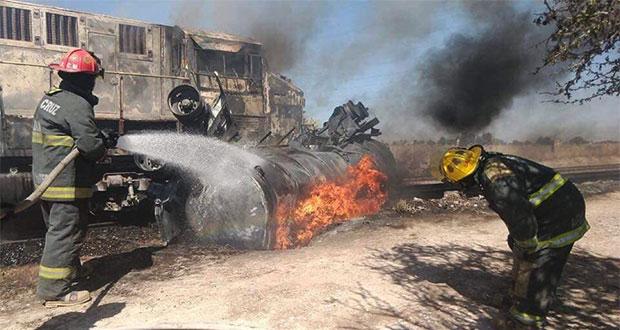 Choque de pipa contra tren en Aguascalientes deja dos muertos