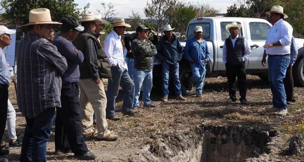 Comuna de Ahuatempan capacita para aumentar producción de maíz