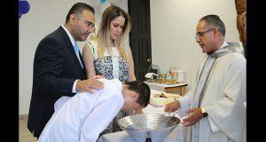 DIF ayuda a menores a ser bautizados y recibir primera comunión