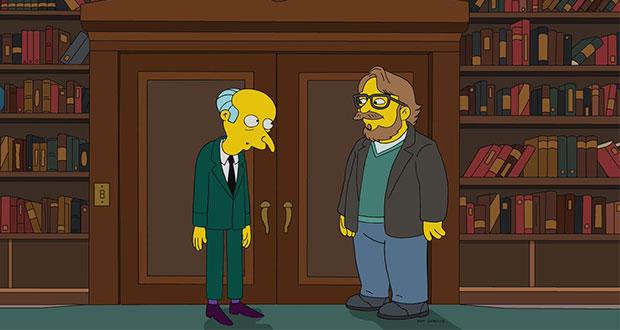 El cineasta mexicano Guillermo del Toro aparecerá en Los Simpson