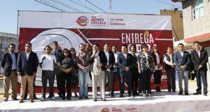 En San Andrés entregan segunda obra en gestión de Karina Pérez