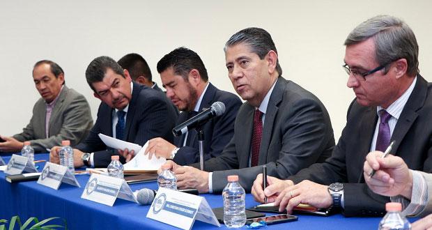 FGE, SSP y CCE colaboran para atender denuncias de empresarios