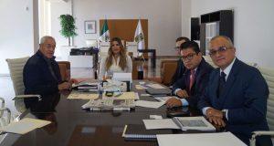 Gobierno estatal y Audi buscan desarrollo sustentable en municipios