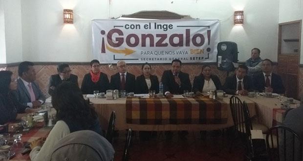 Van tres candidatos a elección para renovar dirigencia del Setep