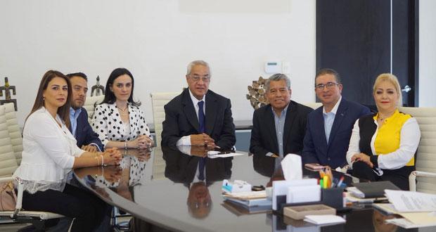 Pacheco y bancada del PAN en Congreso plantean trabajo coordinado