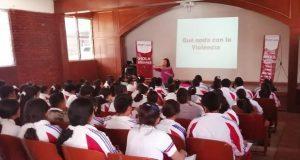 IMM da talleres para prevenir violencia de género a 585 personas