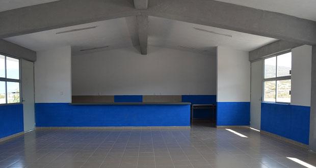 Inauguran comedor escolar en bachillerato de Juan N. Méndez