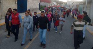 Inauguran pavimentación de calle en colonia Lomas Flor del Bosque