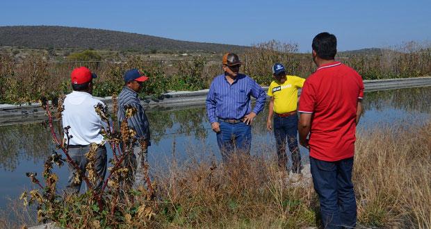 En Ixcaquixtla, rehabilitarán lagunas de oxidación de aguas negras