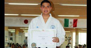 Alumno de BUAP participará en campeonato centroamericano de karate