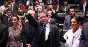 Ante Senado, Villamil asume como titular de radiodifusión pública