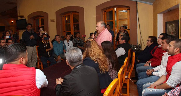 Acercarse a ciudadanos revitalizará al PRI, afirma Lorenzo Rivera